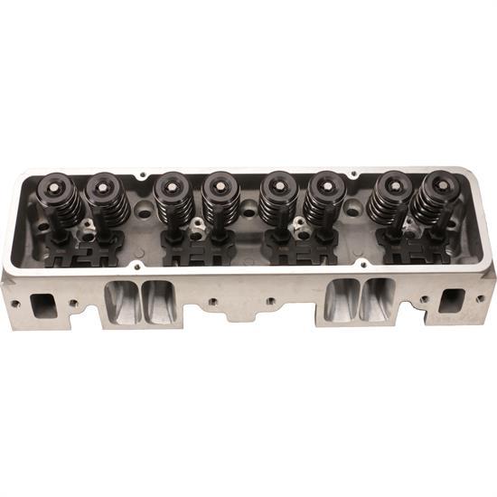 Flo-Tek 1220-SRCNC-505 SBC Aluminum Head, Angle Plug