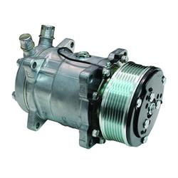 Vintage Air 04808-VMA Sanden Air Conditioning Compressor, 7 Groove