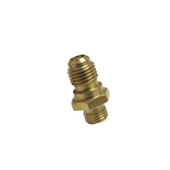 Vintage Air 18103-VUG Threaded Adapters, Straight Male, Brass