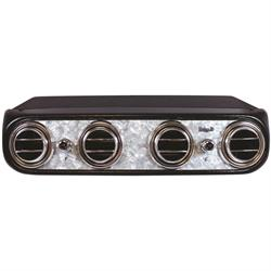 Vintage Air 674011 Heritage Series Under Dash Evaporators, Pearl