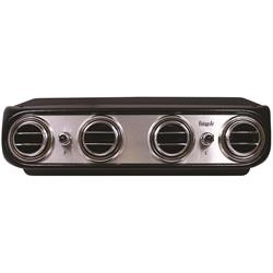 Vintage Air 674013 Heritage Series Under Dash Evaporators, Brushed