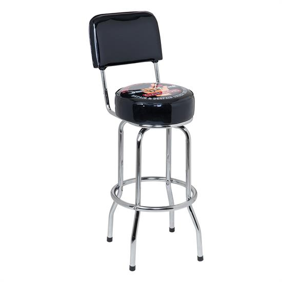 Busted Knuckle Garage BKG-72200 Bar Stool Backrest