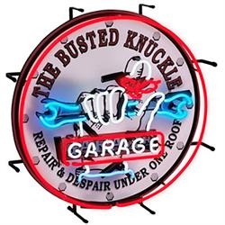 Busted Knuckle Garage BKG-75400 Neon Sign