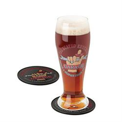 Busted Knuckle Garage BKG-78702 Pilsner Glass Set