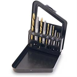 Titan Tools 16013 Screw Extractor/Left Hand Drill Bit Set