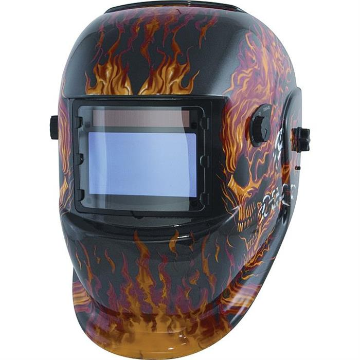 Titan tools 41283 skullwrench solar powered darkening welding helmet 8999 titan tools 41266 solar powered auto darkening welding helmet flames malvernweather Images