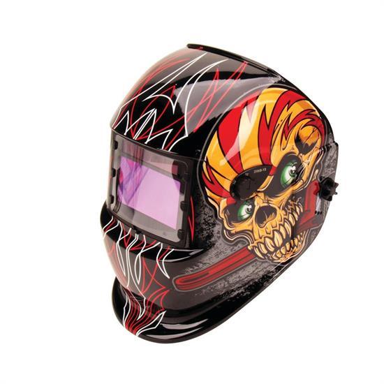 Titan tools 41283 skullwrench solar powered darkening welding helmet malvernweather Images