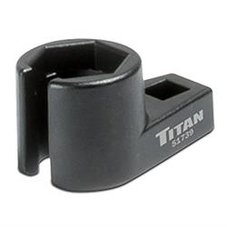 Titan Tools 51739 Offset Oxygen Sensor Wrench