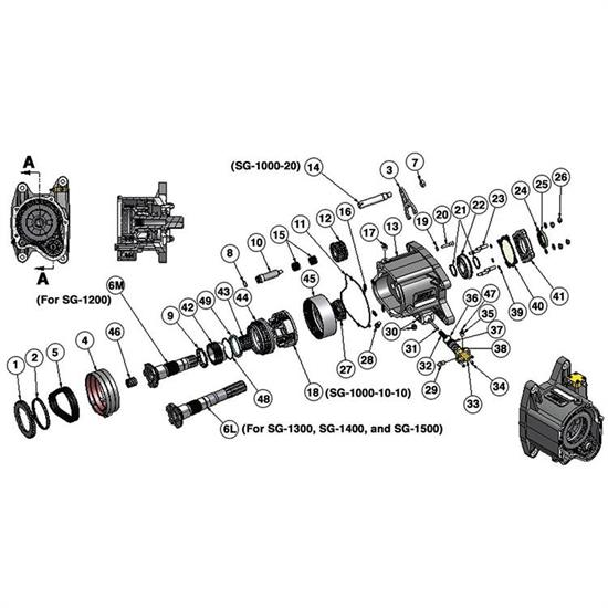 Bert Transmission SG-1007 Carrier Crown