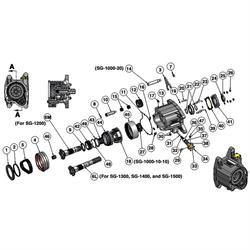 Bert Transmission SG-1056 Hex Nylon Lock, 1/2-20 UNF