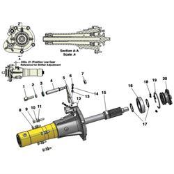 Bert Transmission SG-1101 Gear Selector