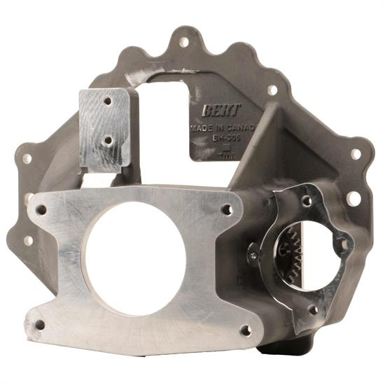 Bert Transmission 301C/320NCEXT Crate Chevy Bellhousing, w/Idler