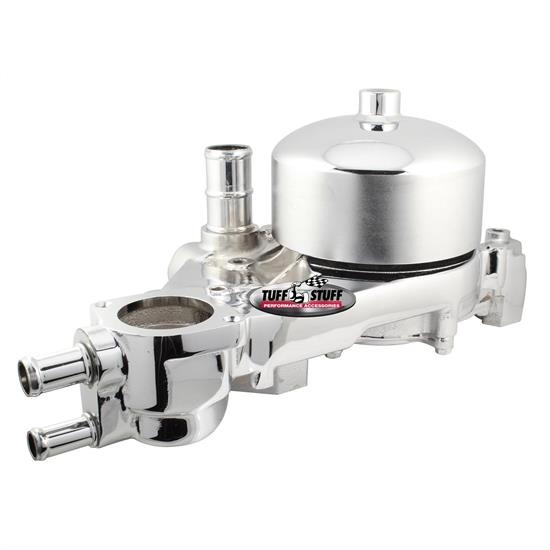 Tuff Stuff 1310B LS1 Water Pump With Pulley, Polished Aluminum
