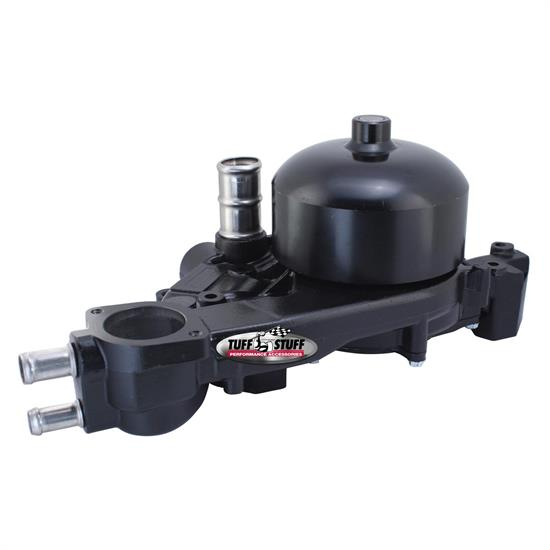 Tuff Stuff 1310D LS1 Water Pump With Pulley, Black Paint