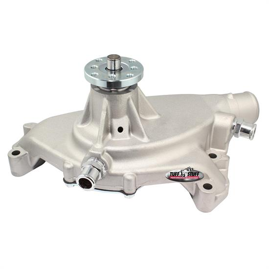 Tuff Stuff 1496 BBC Short Aluminum Water Pump, 5.750 Inch