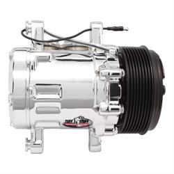 Tuff Stuff 4517NB8G A/C Compressor, 8 Groove, Polished