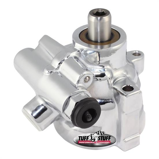 Tuff Stuff 6175ALD-6 LS1 Type II Power Steering Pump, Chrome