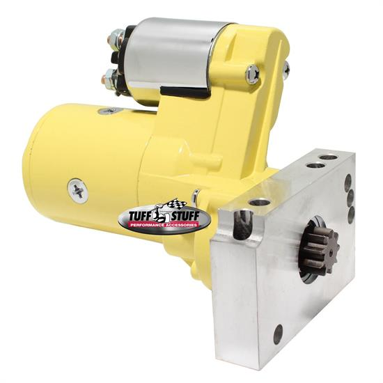 Tuff Stuff 6584BYELLOW Chevy Gear Reduction Starter, Yellow