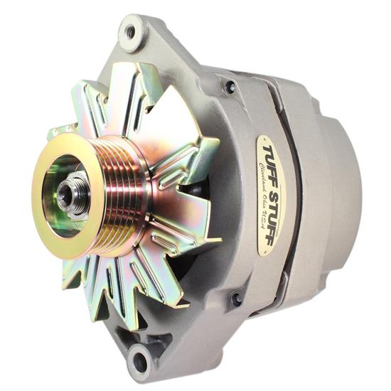 Tuff Stuff 7127K6G GM Alternator, 140 Amp, 1-Wire, Factory Cast
