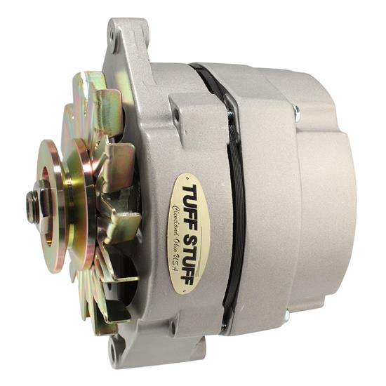 TUFF-STUFF 7127NK GM alternator 140 amp 1wire chrome