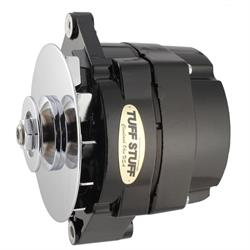 Tuff Stuff 7127NF12 GM Alternator, 100 Amp, 1-Wire, Stealth Black