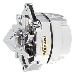 Tuff Stuff 7139BBULL9 GM Silver Bullet 100 Amp Alternator, Pol