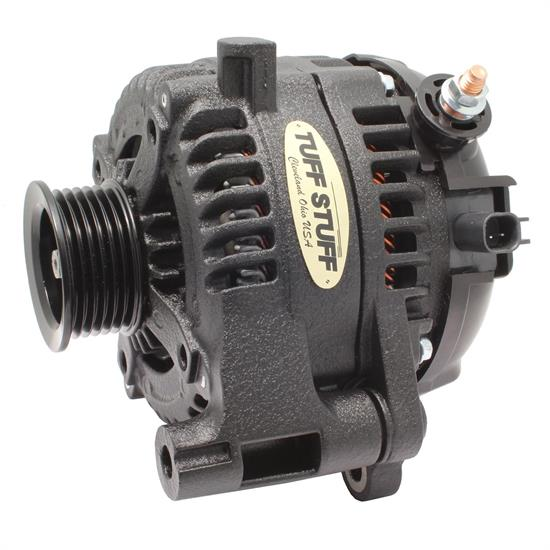 Tuff Stuff 7516B Jeep Wrangler Alternator 12-18, 250 Amp, Black