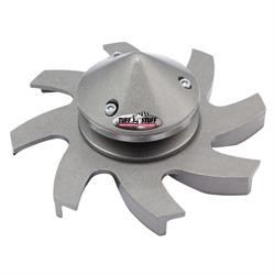 Tuff Stuff 7679BD Billet Aluminum Alternator Fan And Pulley, Cast