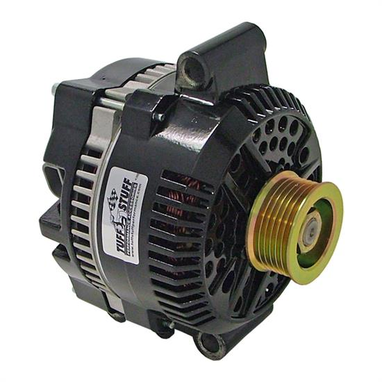 Tuff Stuff 7768C Ford Truck Alternator, 225 Amp, Stealth Black