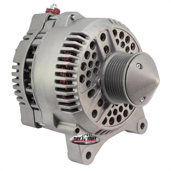 Tuff Stuff 7791FBULL Ford Silver Bullet 225 Amp Alternator, Cast