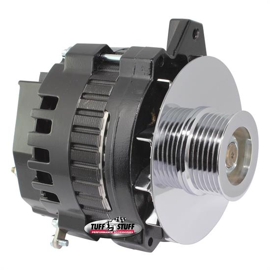 Tuff Stuff 7860G6G GM Alternator 160 Amp, 1-Wire/OEM, Black