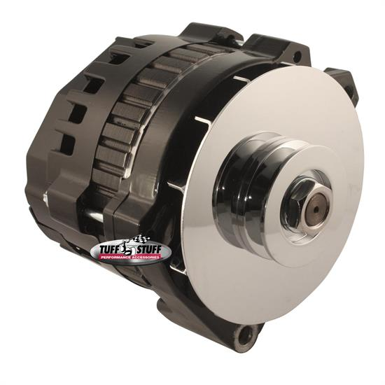 Tuff Stuff 7860G GM Alternator 160 Amp, 1-Wire/OEM, Black