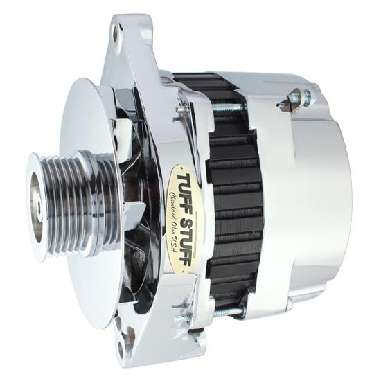 Tuff Stuff 7864D GM ZR1 Alternator, 1990-1996, 250 Amp, Chrome