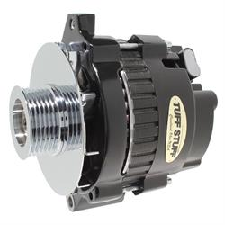 Tuff Stuff 7866G6G GM Alternator, 160 Amp, 1-Wire/OEM, Black