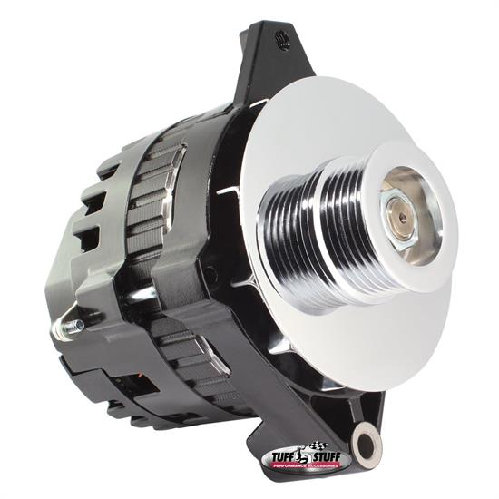 Tuff Stuff 7935E6G GM Alternator, 105 Amp, 1-Wire/OEM, Black