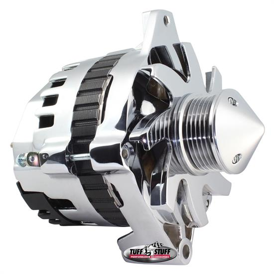 Tuff Stuff 7935FP6G22 GM Alternator, 160 Amp, 1-Wire/OEM, Pol