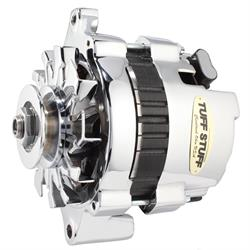 Tuff Stuff 7937A16V GM Mini Racer Alternator, 1 Wire, Chrome