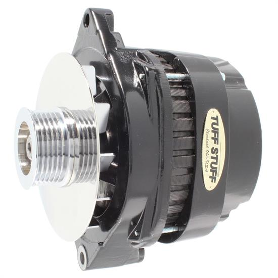 Tuff Stuff 8112NB GM Alternator, 170 Amp, OEM Wire, Black