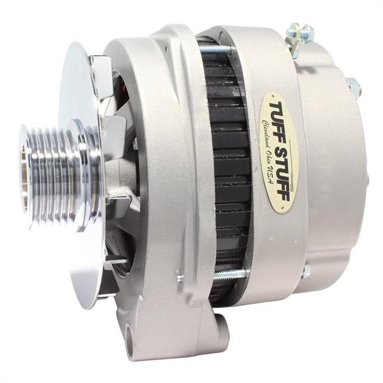 Tuff Stuff 8219NK GM Truck Alternator, 250 Amp, 1-Wire, Cast