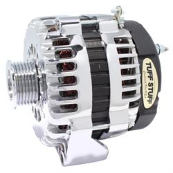 Tuff Stuff 8292DP GM 6 Groove Alternator, 230 Amp, Polished