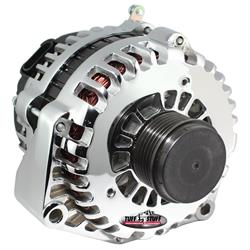 Tuff Stuff 8299DP GM 6 Groove Alternator, 230 Amp, Polished