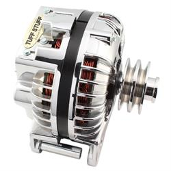 Tuff Stuff 9509RDDP 1960-88 Chrysler Alternator, 130 Amp, Chrome