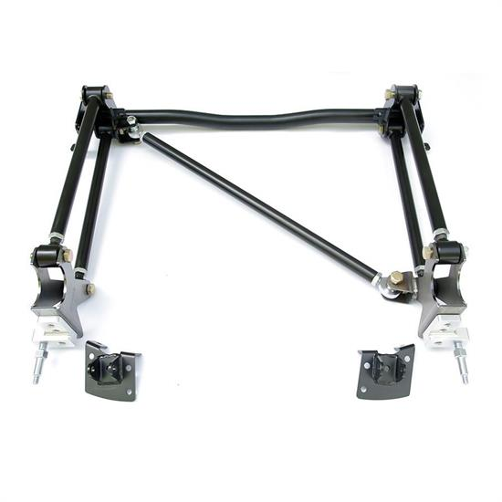 RideTech 11037197 Heim Vers, Bolt-On 4-Link 55-57 Chevy 2Pc Frame