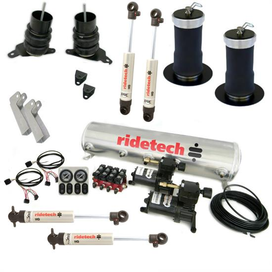 RideTech 11220198 Level 1 Air Suspension System, 64-72 Chevelle