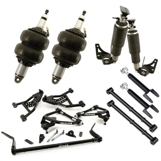 RideTech 11320298 Air Suspension System, 78-88 GM G Body