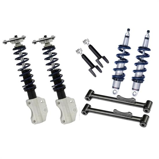 RideTech 12130210 Complete HQ Series Coilover Kit, 90-93 Mustang