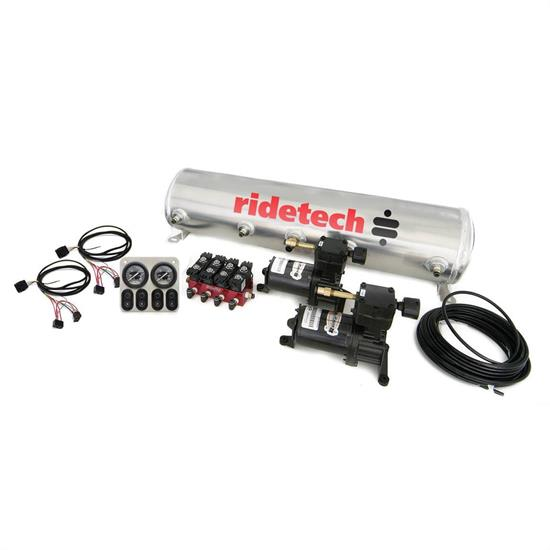 RideTech 30154100 Compressor System, 4-Way Electric Solenoid on