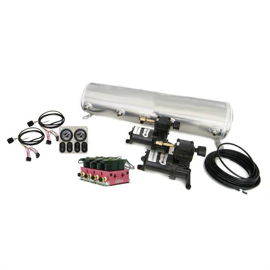 RideTech 30154700 Big Red 4-Way Compressor System
