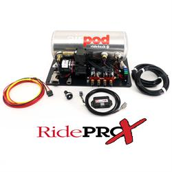 RideTech 30414000 3 Gallon AirPod W/ RidePro X Control System