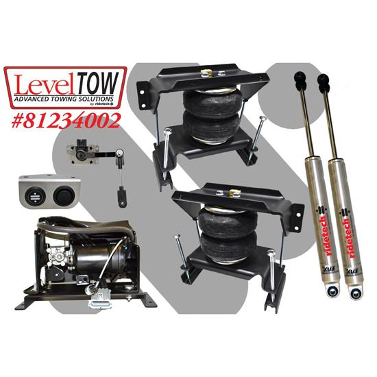 RideTech 81234002 LevelTow Kit, 1994-2002 Dodge Ram 2500,3500